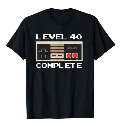 level 40 complete shirt