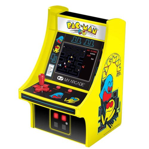 mini pacman arcade machine