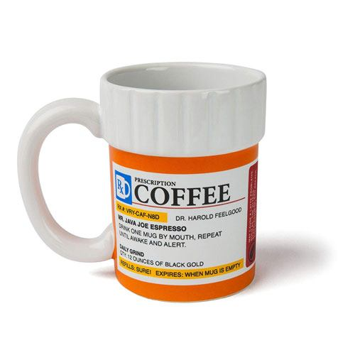 prescription coffee mug gift idea