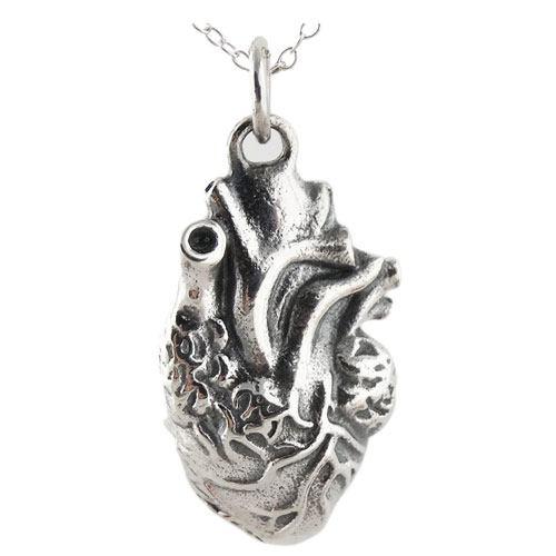 3d heart charm