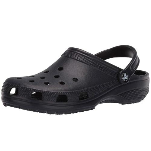black classic crocs