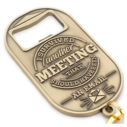 keychain and bottle opener gift