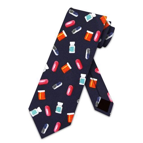 medicine pills tie