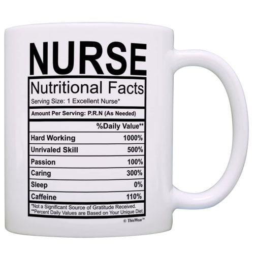 nutritional mug