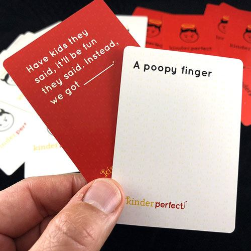 parents part card game
