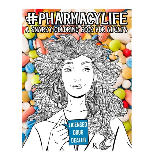 pharmacist coloring book