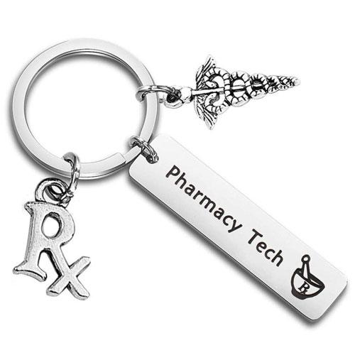 pharmacy technician keychain