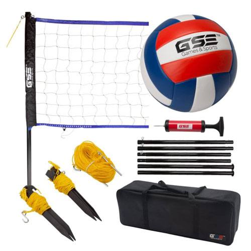 portable volleyball set