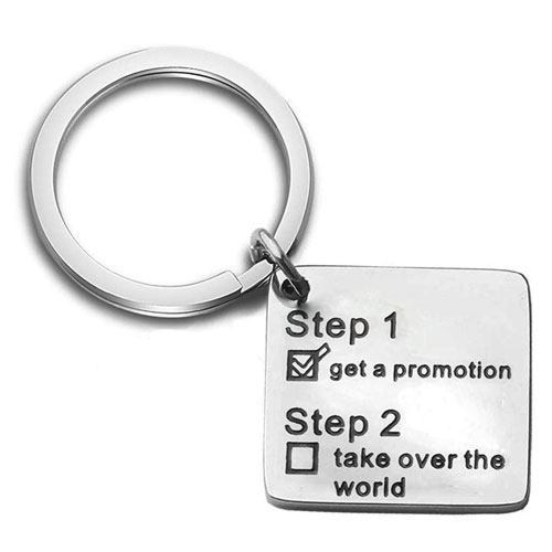 get a promotion keychain