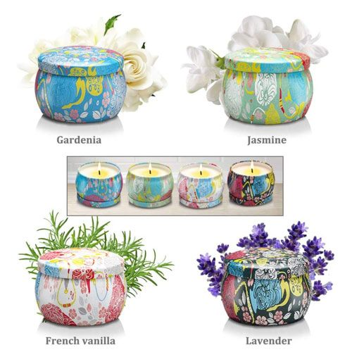 large scented candles gift set