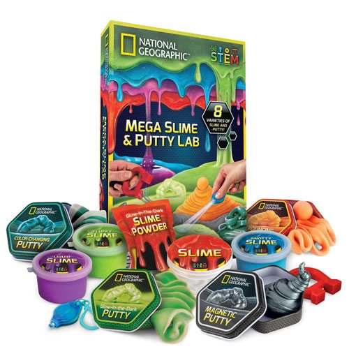 national geographic slime putty kit