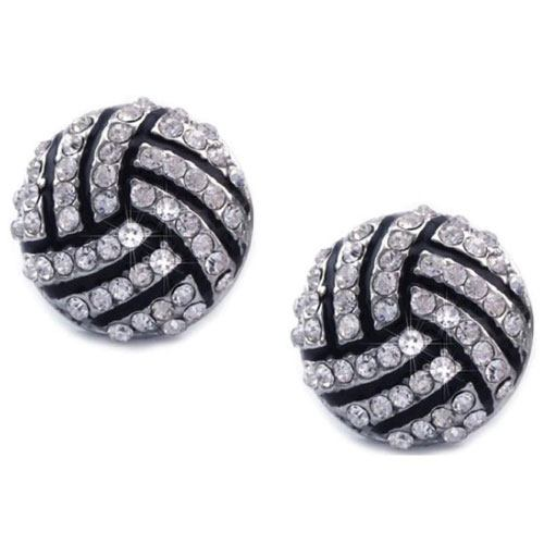volleyball earring studs gift idea
