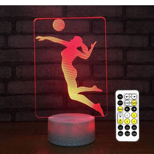 3d volleyball lamp gift