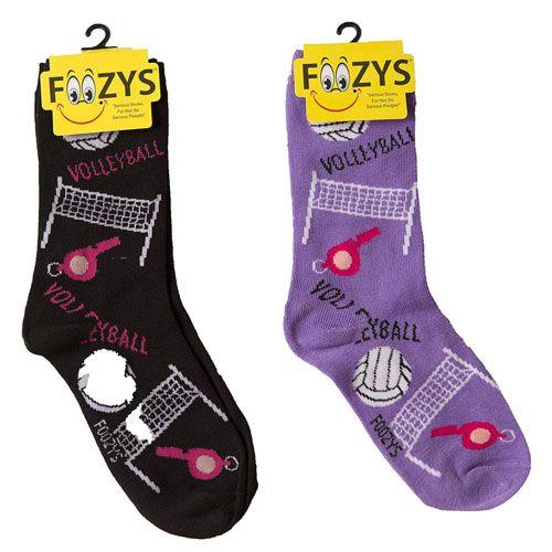 volleyball themed socks