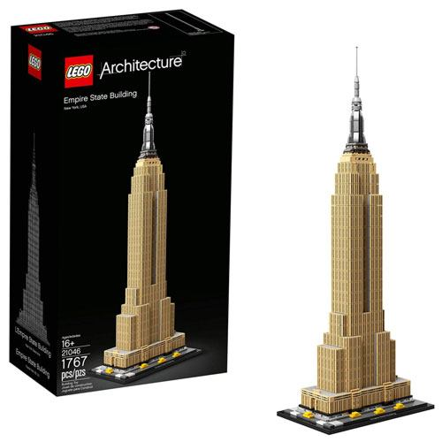 LEGO empire state building kit