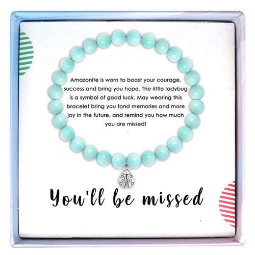amazonite bracelet gift