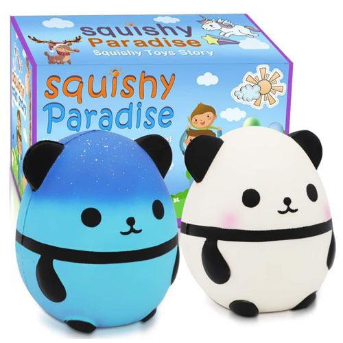 squishy panda toy