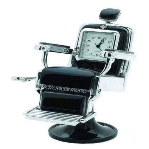 barber seat clock gift
