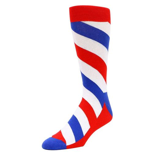 barber crew socks