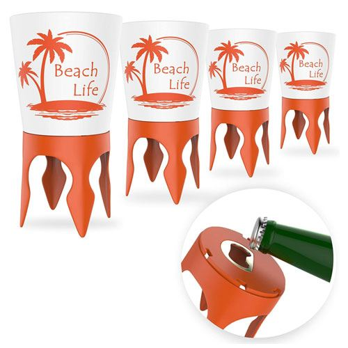 beach cup holders