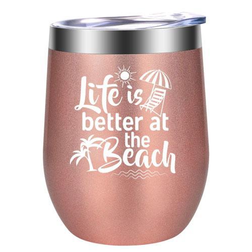 wine tumbler gift idea