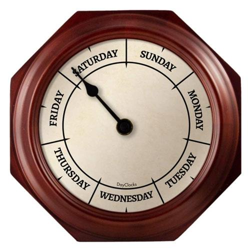 retirement day clock