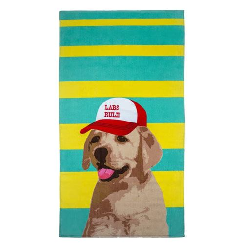 doggy beach towel