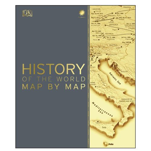 history of the world map