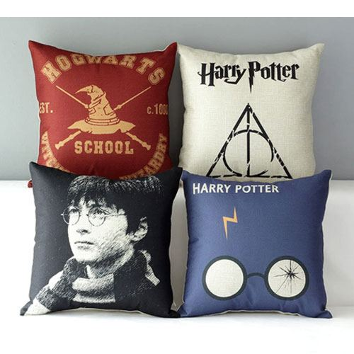 hogwarts pillow cover set