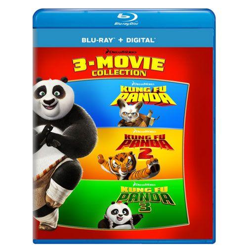 kung fu panda blu ray collection