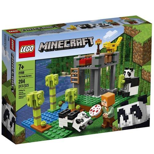 LEGO panda nursery set