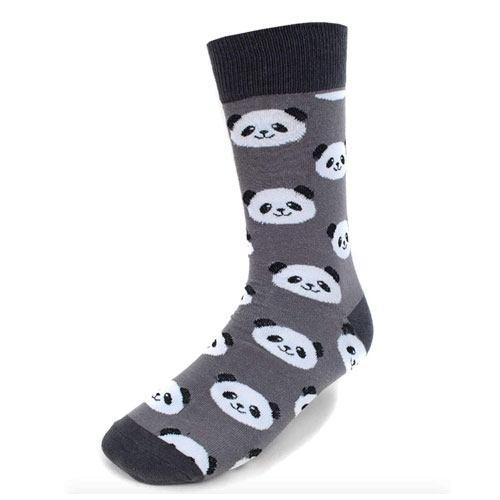 panda socks pair