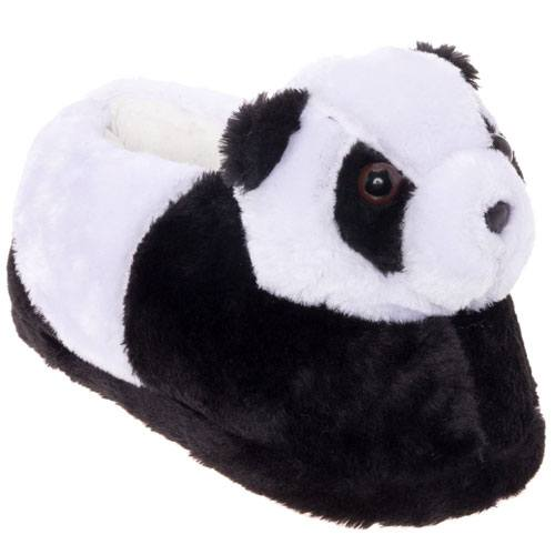 adult panda slippers