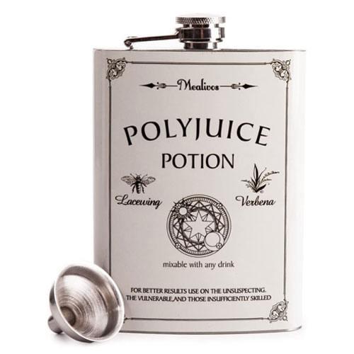 polyjuice potion hip flask