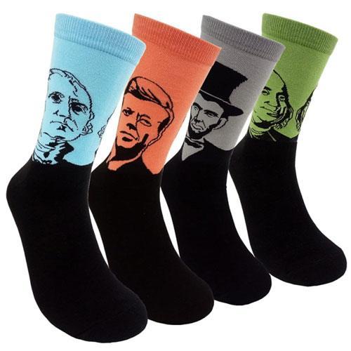president socks gift idea
