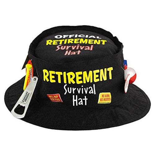 retirement survival hat