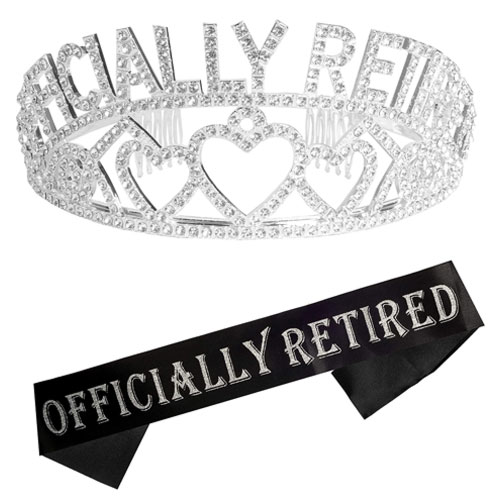 retired tiara and sash
