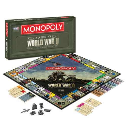 world war 2 monopoly board game