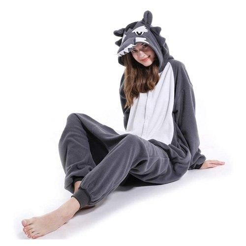 adult wolf onesie gift