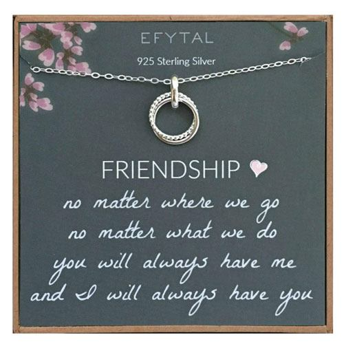 friendship necklace gift
