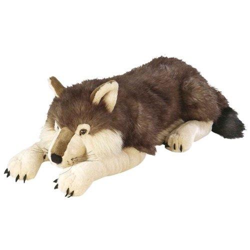 jumbo wolf plush
