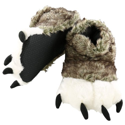 paw slippers gift idea