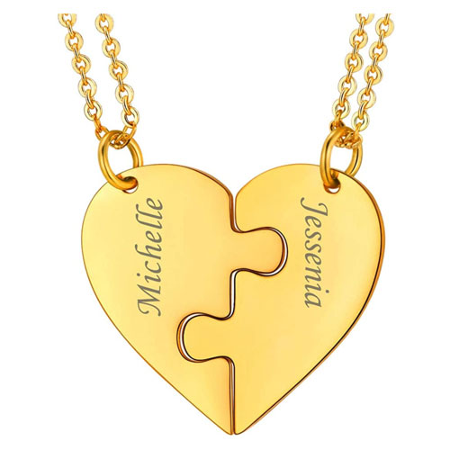 personalized friendship necklace