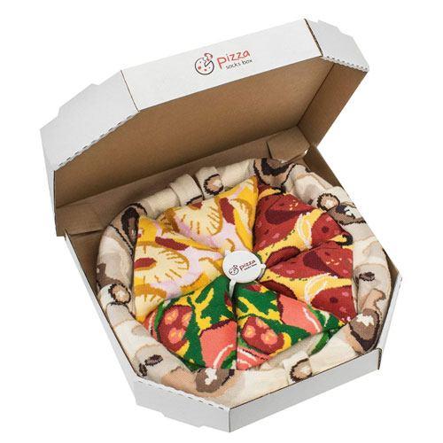 pizza socks gift idea