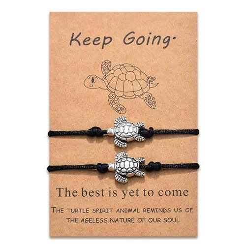 turtle bracelets set