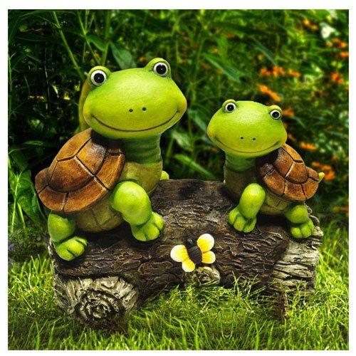 turtle garden statues