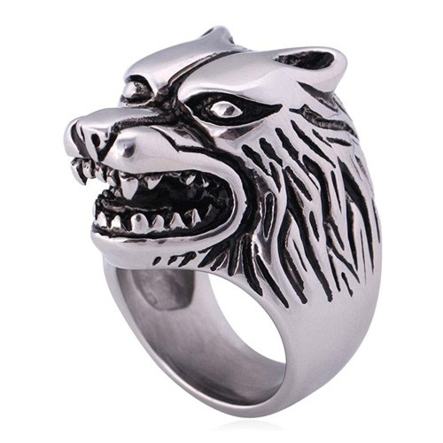 wolf ring gift idea