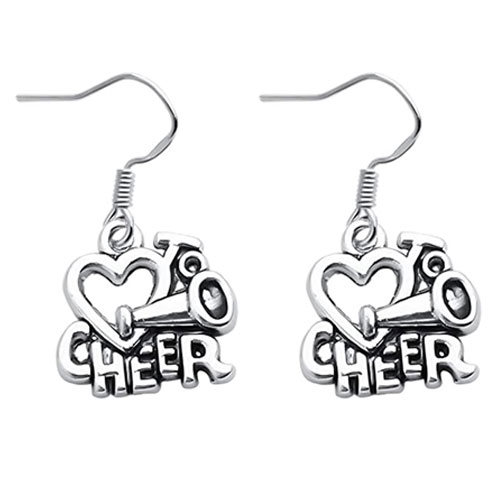 cheer earrings