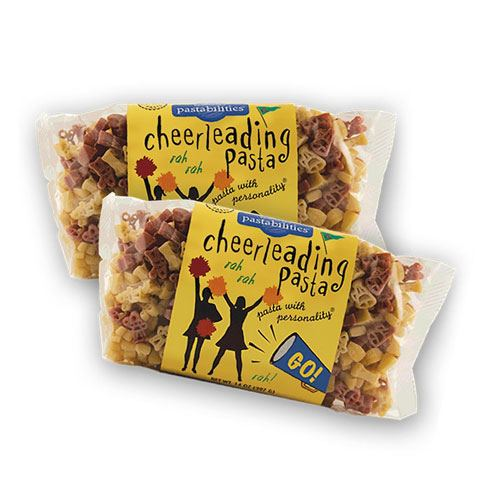cheerleading pasta gift