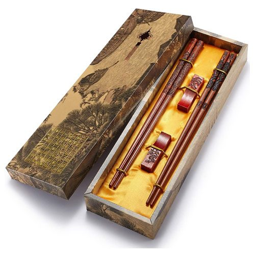 chinese dragon chopsticks